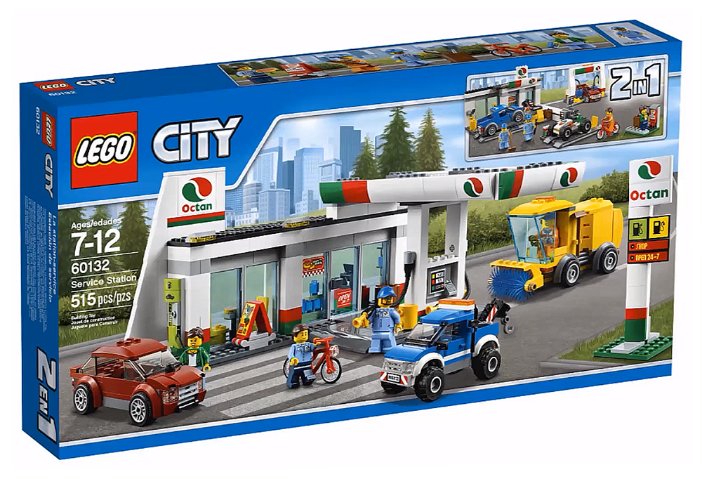 LEGO City La Station Service - 60132 - Photo 1