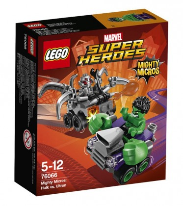 LEGO Marvel 76066 - Hulk contre Ultron