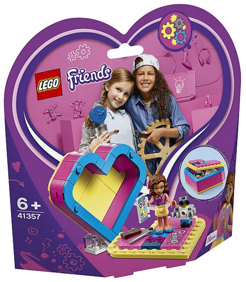 Nouveau LEGO Friends 41357 Olivia's Heart Box 2019
