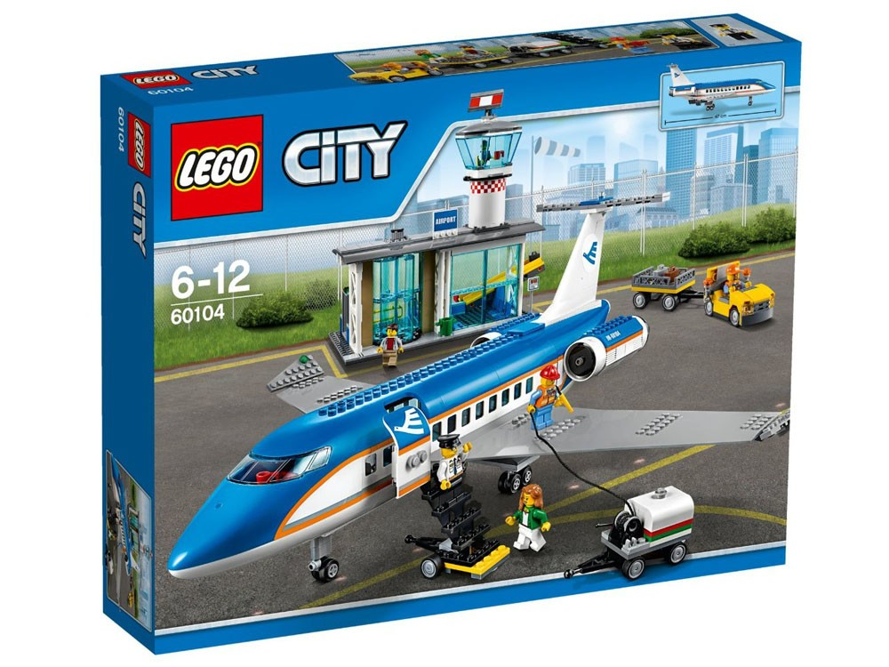 LEGO City: 60104 - Airport Passenger Terminal - Photo 1