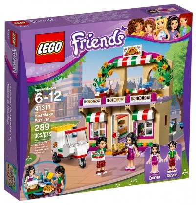 Nouveau LEGO Friends 41311 Heartlake Pizzeria