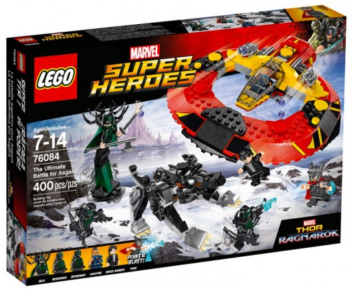 Nouveau LEGO Marvel 76084 The Ultimate Battle for Asgard 2017