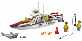 Nouveau LEGO City 60147 Fishing Boat 2017