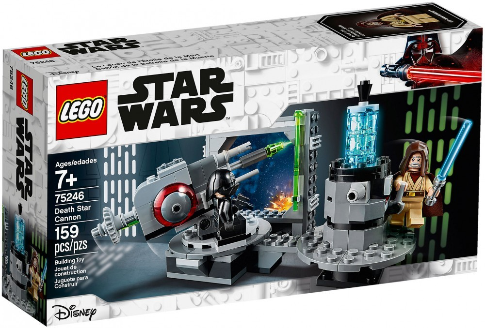 Nouveau LEGO Star Wars 75246 Le canon de l'Étoile de la Mort