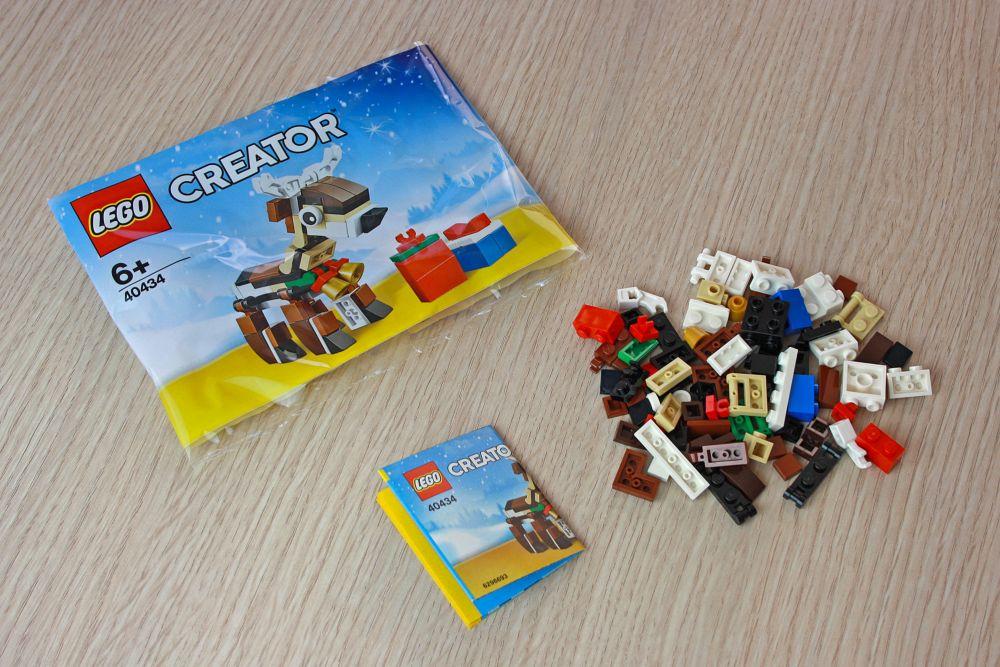 Renne LEGO Creator offert dès 35€ d'achat chez LEGO
