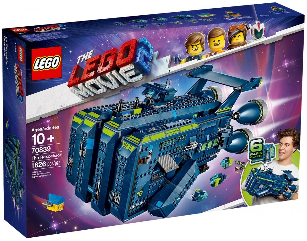 Nouveau LEGO The LEGO Movie 2 70839 Le Rexcelsior !