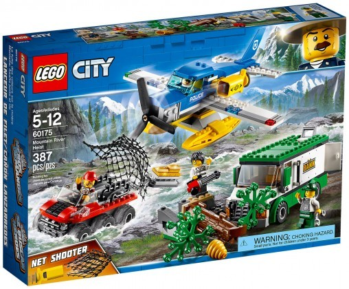 Nouveau LEGO City 60175 Mountain River Heist 2018