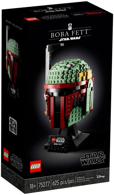 LEGO Star Wars 75277 Le casque de Boba Fett
