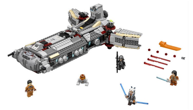 LEGO Star Wars 75158 - Rebel Combat Frigate - Photo 2