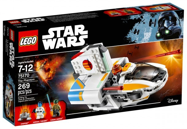 Nouveau LEGO Star Wars 75170 The Phantom