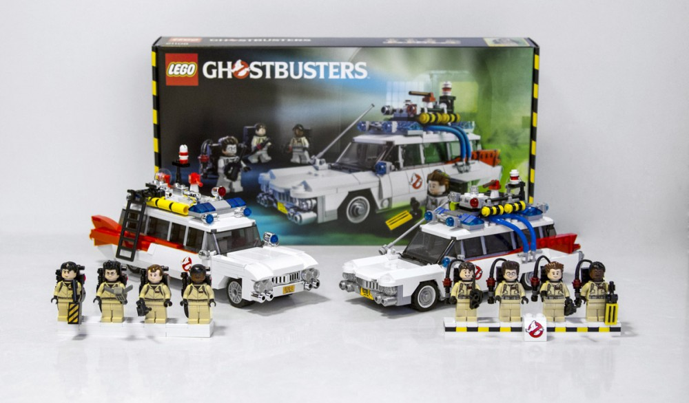 Projet Ideas Ghostbusters 30th Anniversary vs. LEGO Ideas 21108 Ghostbusters (SOS Fantômes)