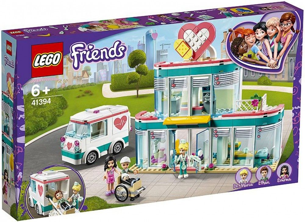 Nouveau LEGO Friends 41394 Heartlake City Hospital // Janvier 2020