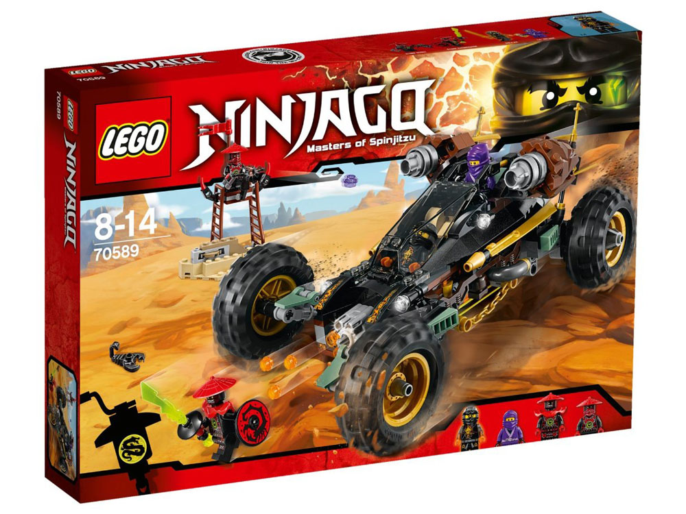 LEGO Ninjago 70589 - Cole's Rock Raider - Photo 1