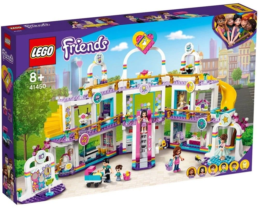 Nouveau LEGO Friends 41450 Heartlake City Shopping Mall // Mars 2021