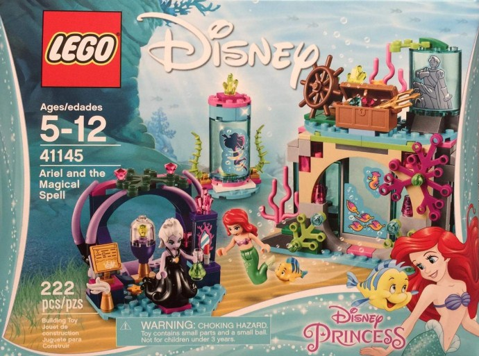 Nouveau LEGO Disney 41145 Ariel and the Magical Spell 2017