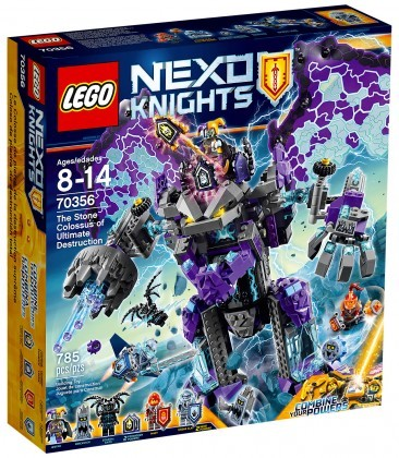 LEGO Nexo Knights 70356 Le Colosse de pierre de la destruction suprême Juin 2017