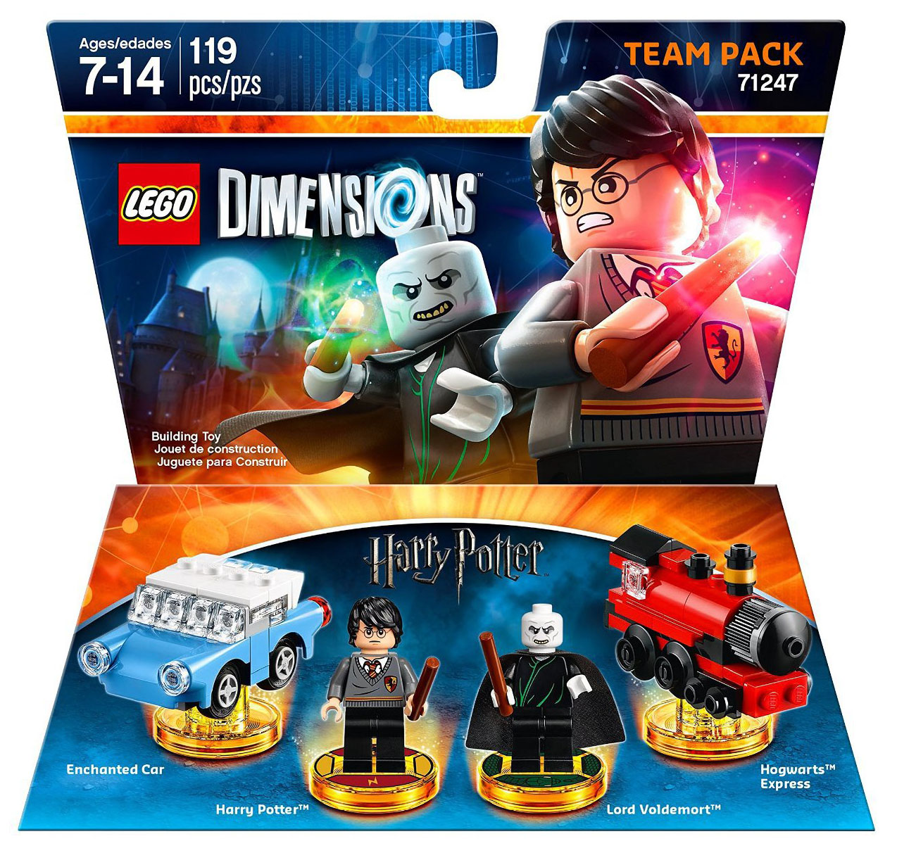 LEGO Dimensions 71247 - Pack Equipe Harry Potter and Lord Voldemort