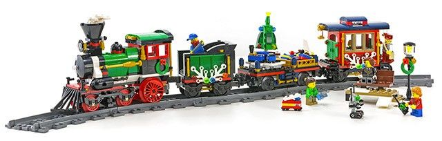 LEGO Creator 10254 Le train de Noël
