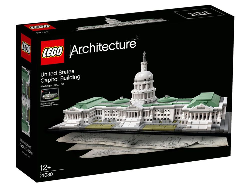 LEGO Architecture 21030 - United States Capitol Building - PHOTO 1