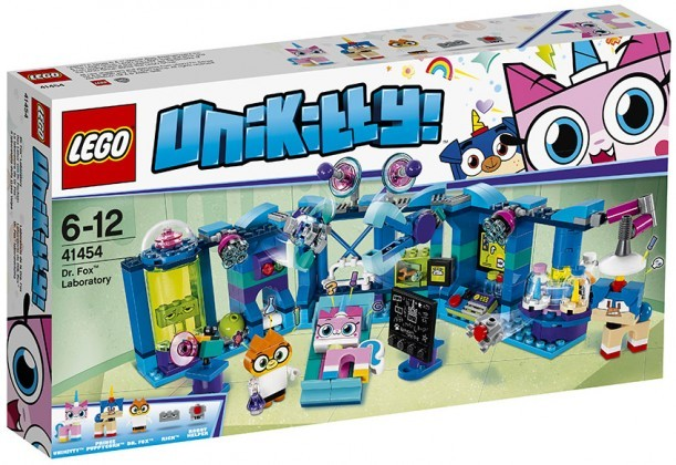 Nouveau LEGO Unikitty 41454 Dr. Fox Laboratory 2018