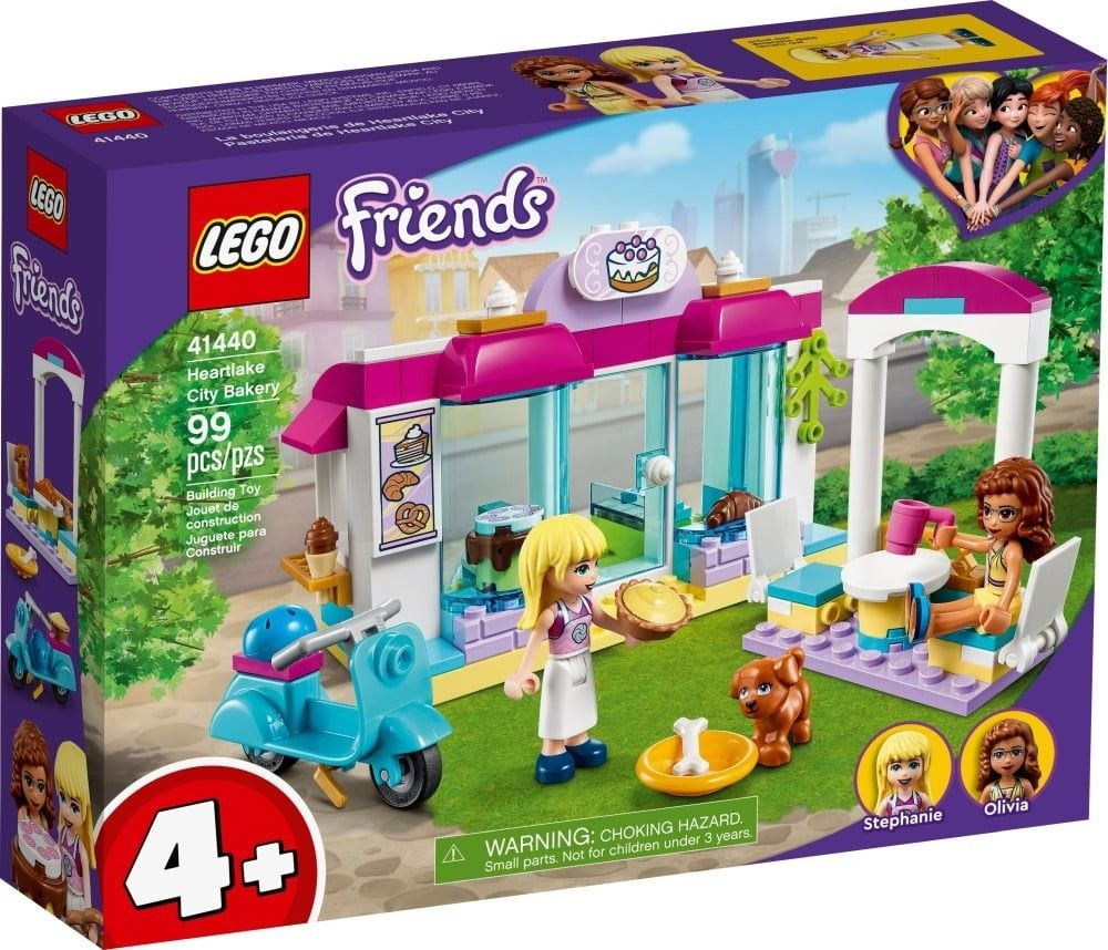 Nouveau LEGO Friends 41440 Heartlake City Bakery // Mars 2021
