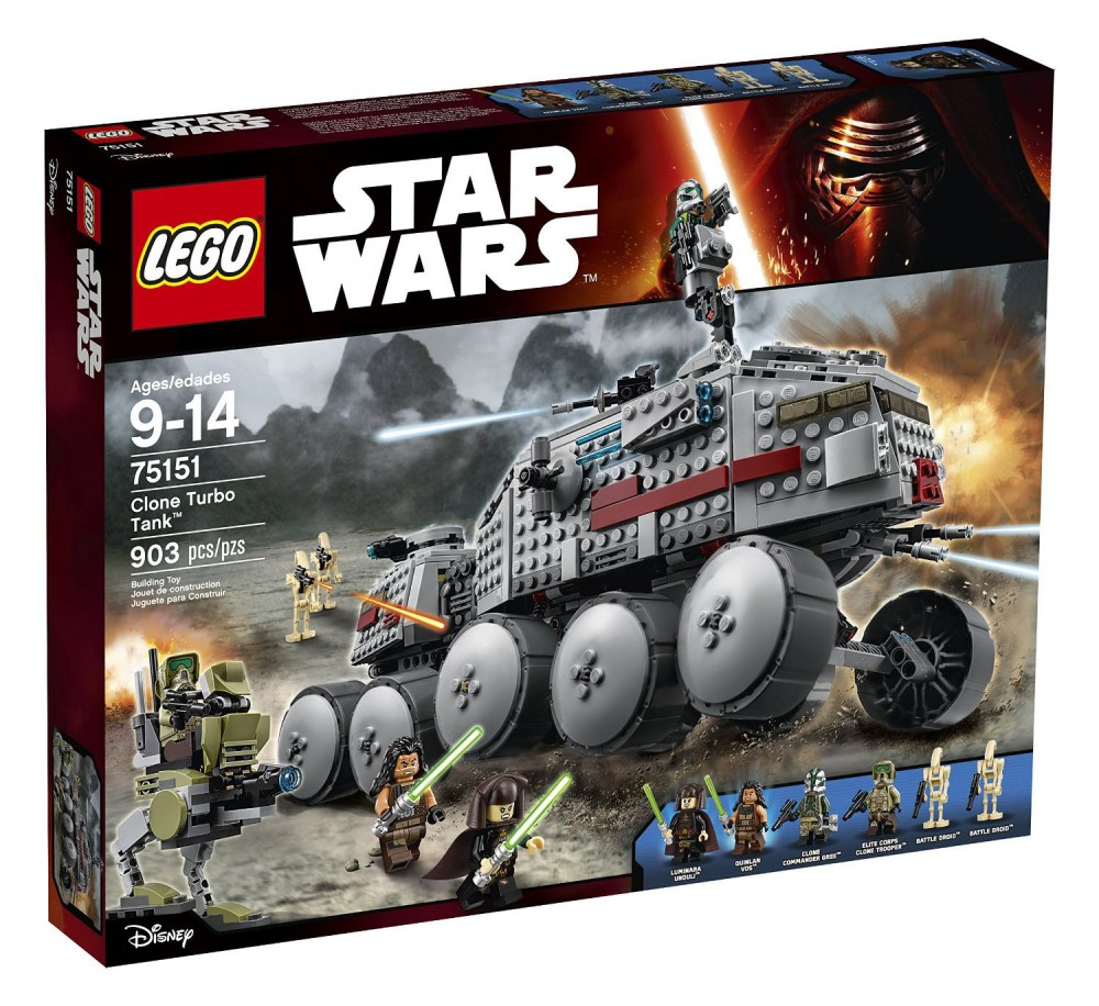 LEGO Star Wars Star Clone Turbo Tank - 75151 - Photo 1