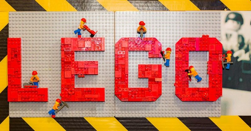 Exposition LEGO Art of Brick Gard