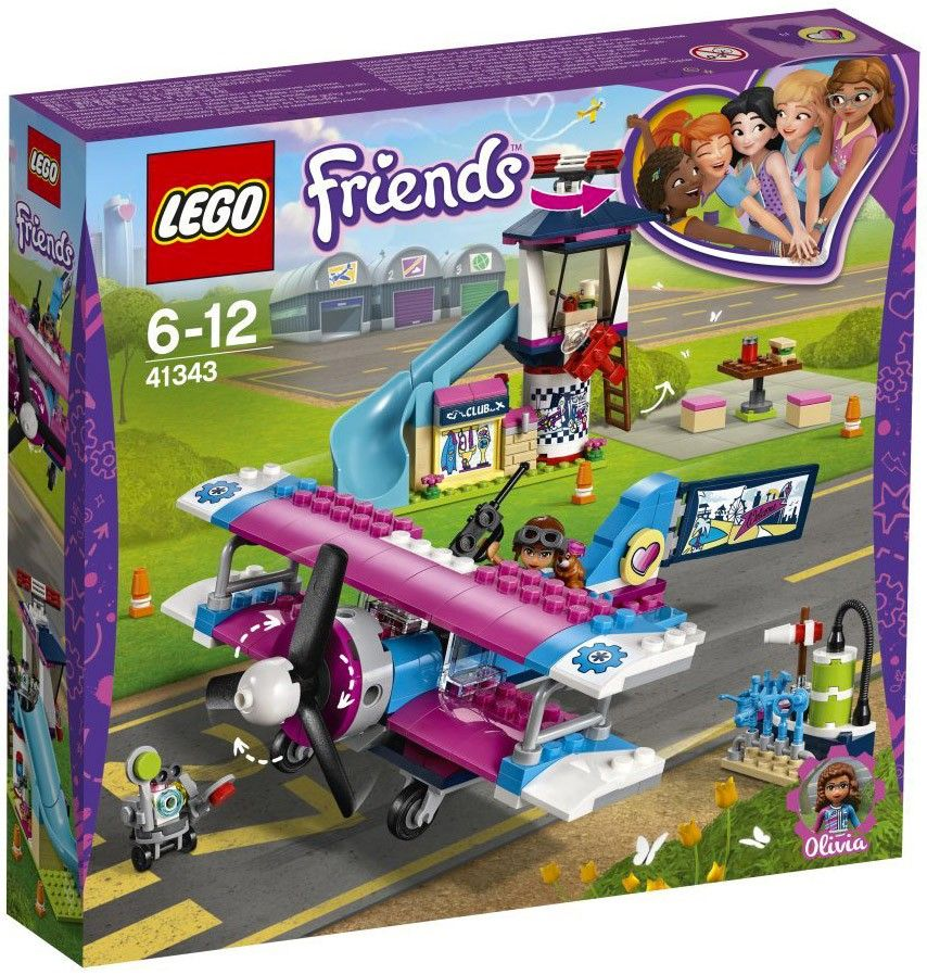 Nouveau LEGO Friends 41343 Heartlake City Airplane Tour 2018
